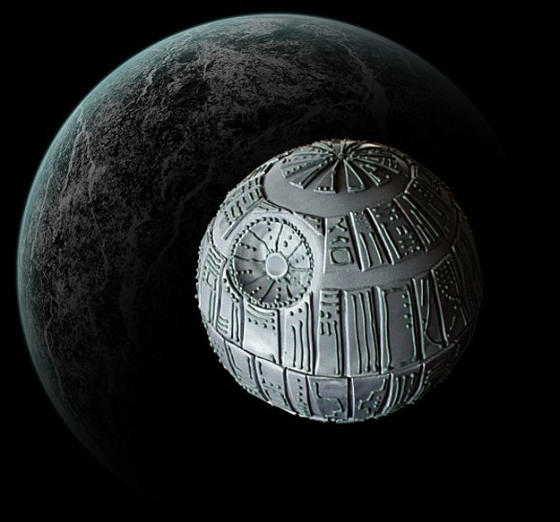 DIY Star Wars Inspired Death Star Cake