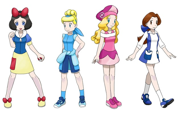 Pokemon Princesses: A Disney Princess & Pokemon Mashup
