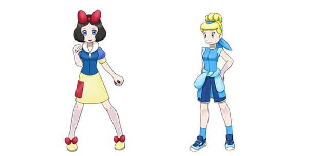 Disney-Princesses-Pokemon-Style