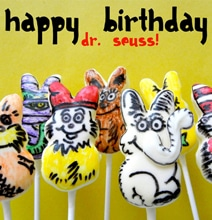 Delicious Mashup: Dr. Seuss, The Lorax & Marshmallow Peeps