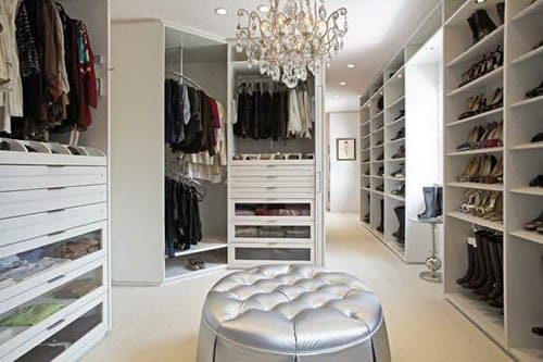 Home Design Huge Closets