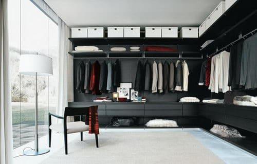 Home Interior Huge Closets