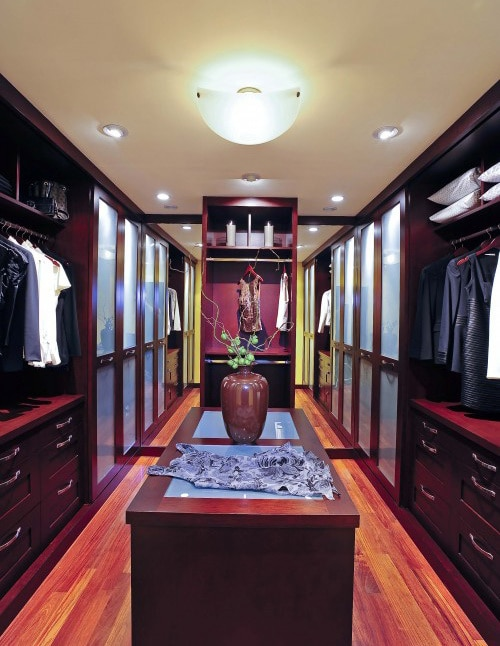 Home Interior Closet Decorating
