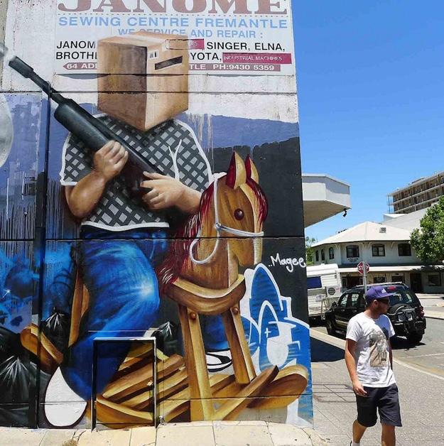 Huge Beautiful Street Art Paintings