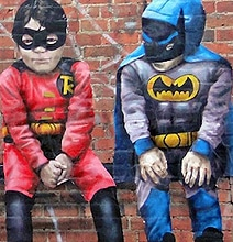 Superhero Street Art: Stunning Works Of Art In Public Spaces