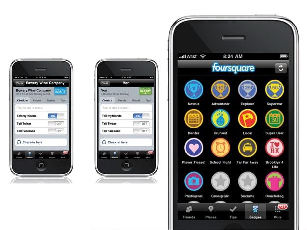 Location-Bases Social Media iPhones