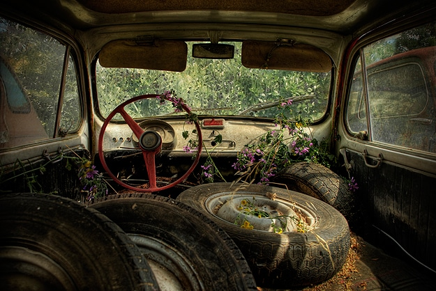 Photography Of Abandoned Cars