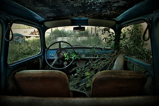 Photographs Of Abandoned Cars
