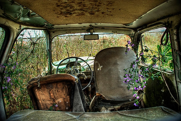 Photographs Of Abandoned Cars