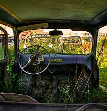 Abandoned Car Photography: Discarded Trash Becomes A Treasure