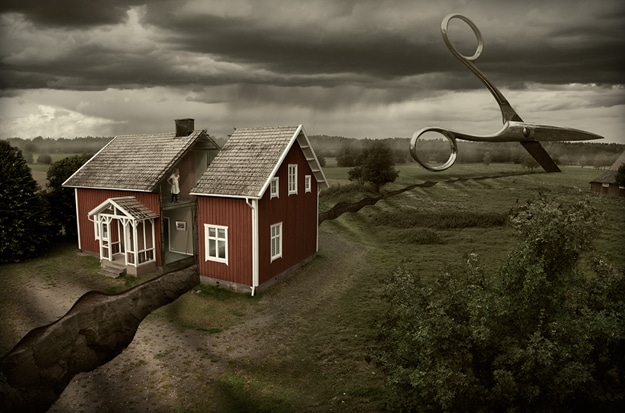 Photo Manipulation of a house