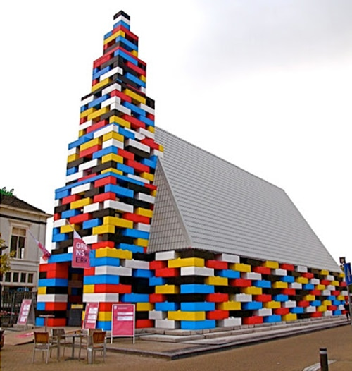 Lego Church: A Full-Size Real Church Adorned In Lego