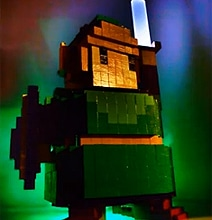 16-Bit Legend Of Zelda Link Computer Case Mod