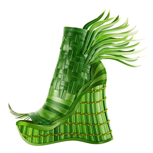 Tropical-Green-Botanical-Shoe