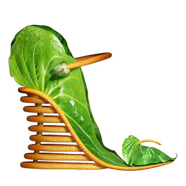 Creative-Heel-Leafy-Botanical-Shoe