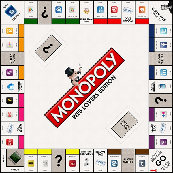 Game For Geeks: Monopoly Web Lovers Edition