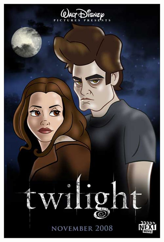Twilight Redesigned Disney Movie
