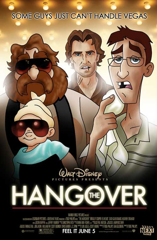 Hangover Movie Redesigned As Disney
