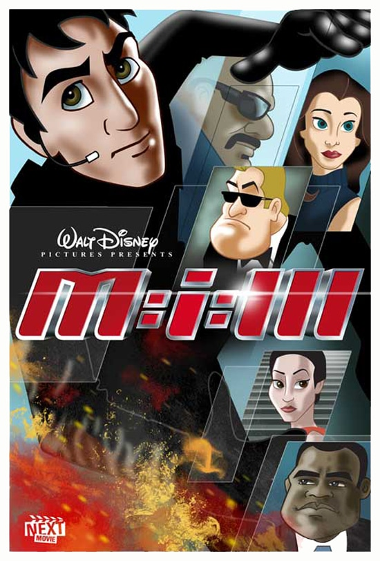 Mission Impossible Redesigned As Disney