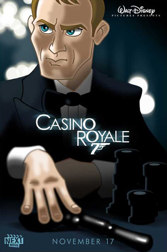 Casino Royale Redesigned As Disney