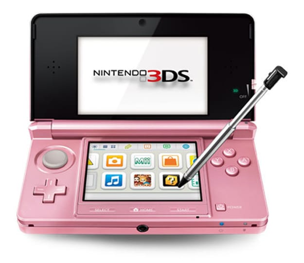 Pink Pearl Nintendo 3DS: Limited Edition For Valentine's Day