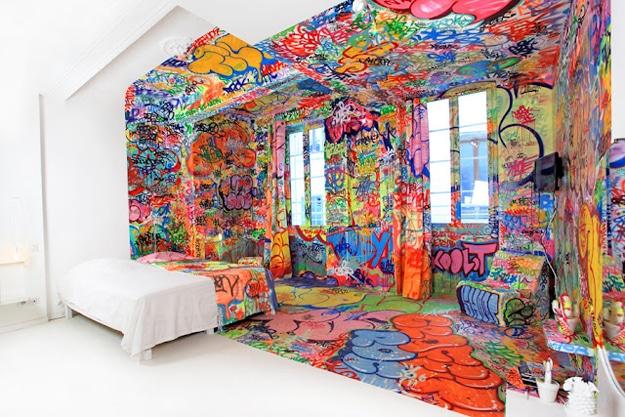 Panic Room: Bedroom Design That Illustrates Both Creativity & Logic