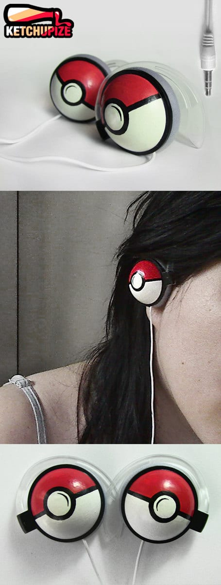 Geek Pokemon Music Headphones