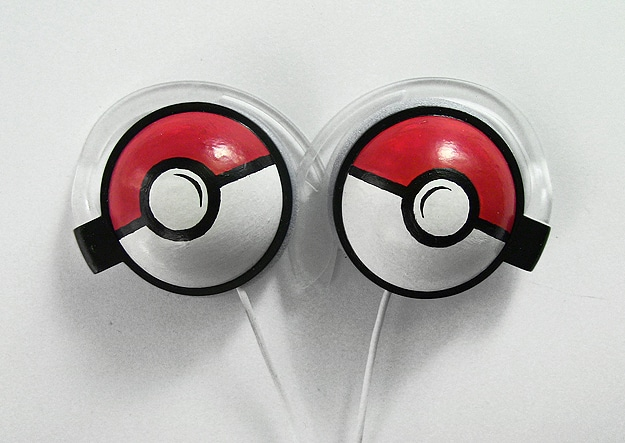 Geek Pokemon Craft Headphones