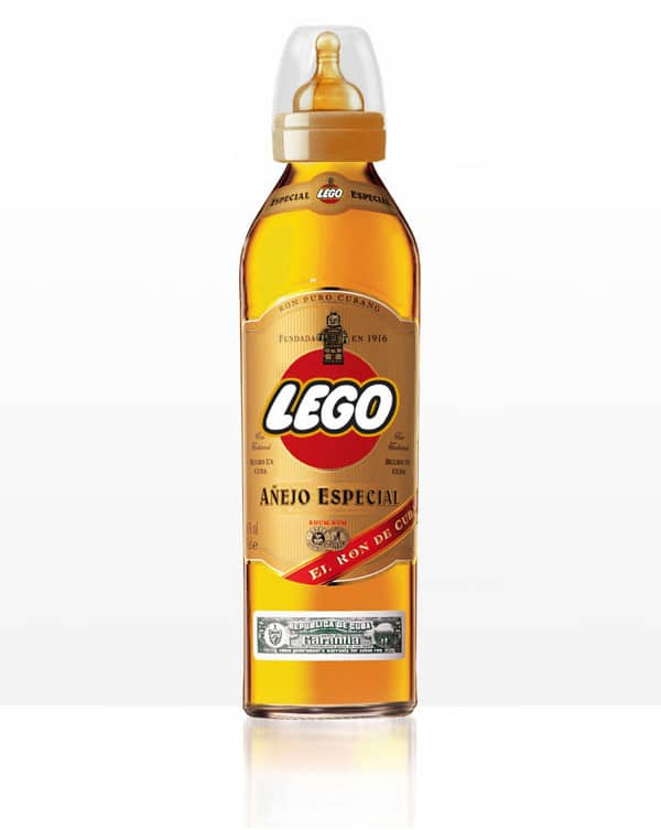 Lego Whiskey Vodka Alcohol