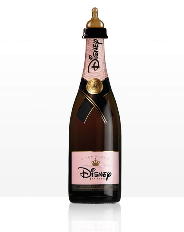 Disney Wine Alcohol Bottle Design