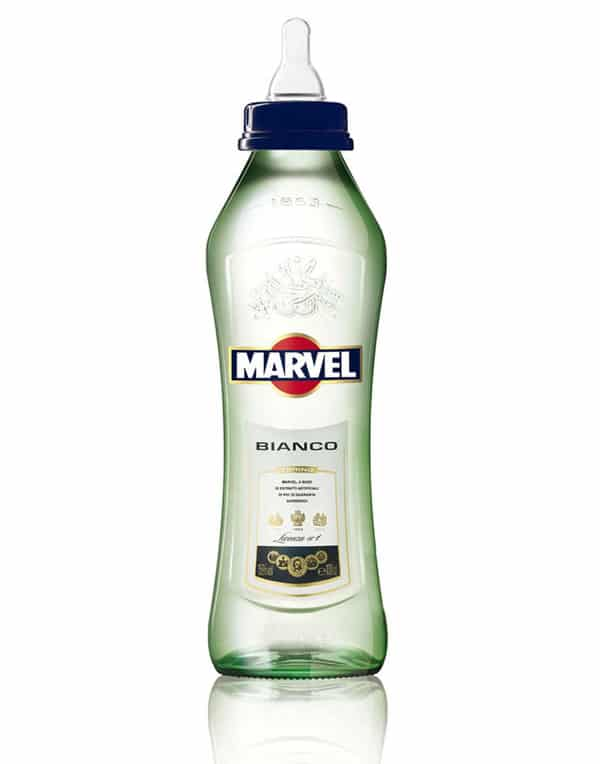 Marvel Comics Vodka Bottle Design