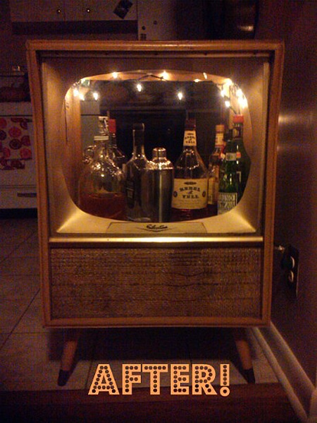 Old Fashioned Television Set Mod