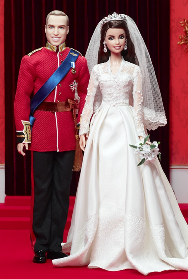 Royal Barbie Dolls To Celebrate William And Kate's 1st Anniversary