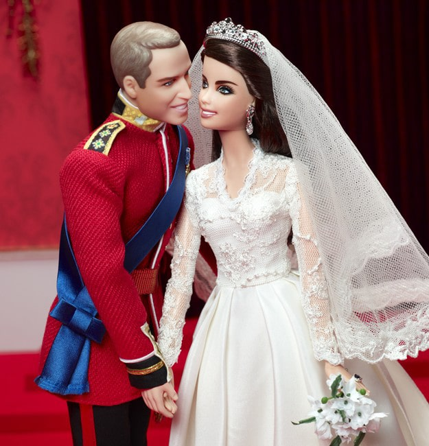 William and Kate Royal Barbies