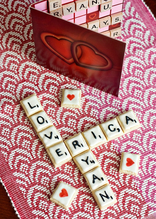 Words With Cookies: Scrabble Inspired Cookie Designs