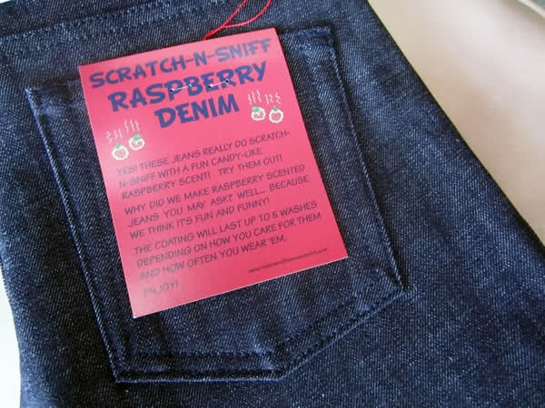 Fruit Smelling Japanese Jeans