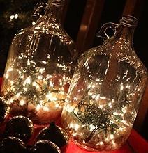 DIY Charming Glass Bottle Lighting