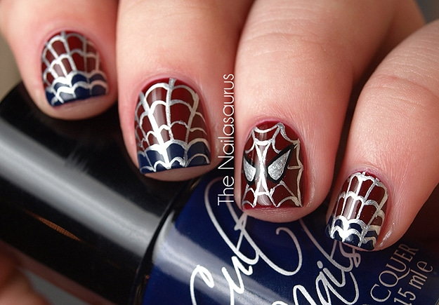 Spider-Man-Nail-Tutorial