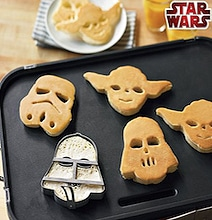 May The Fork Be With You: Star Wars Pancake Molds