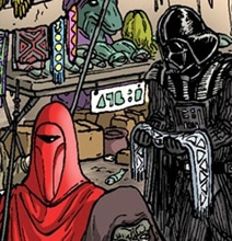 Wheres Waldo Star Wars Illustration