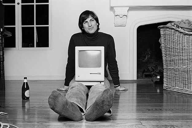 Rare Steve Jobs Apple Photo