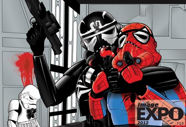 Creative Star Wars Superhero Art