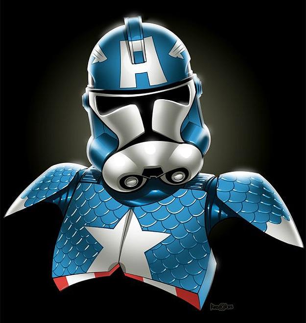Captain America Star Wars Stormtrooper