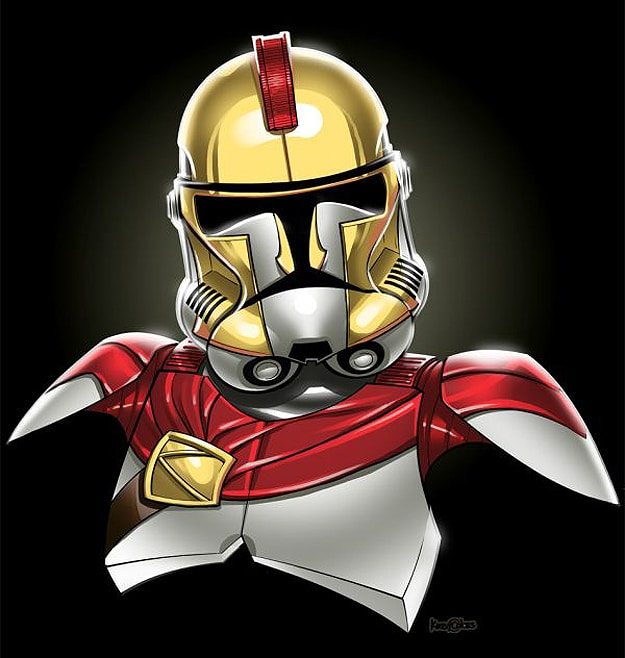 Iron Man Star Wars Stormtroopers