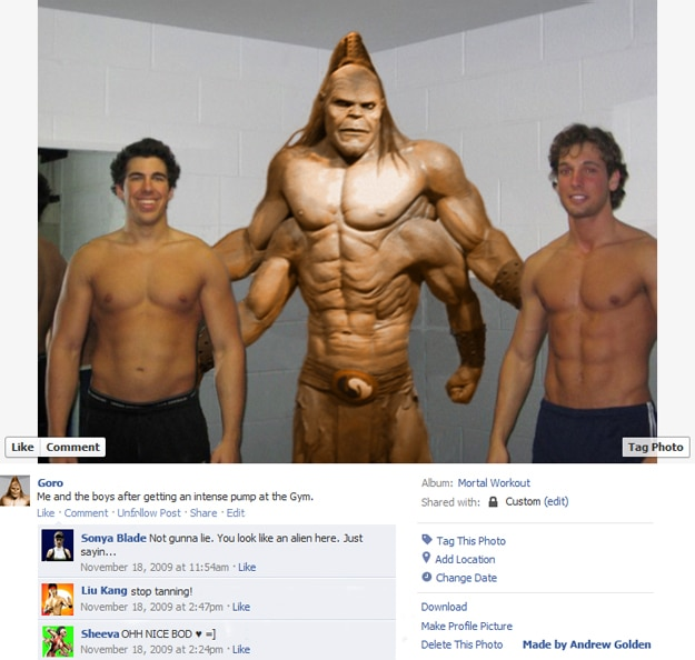 Fun Fake Facebook Photos