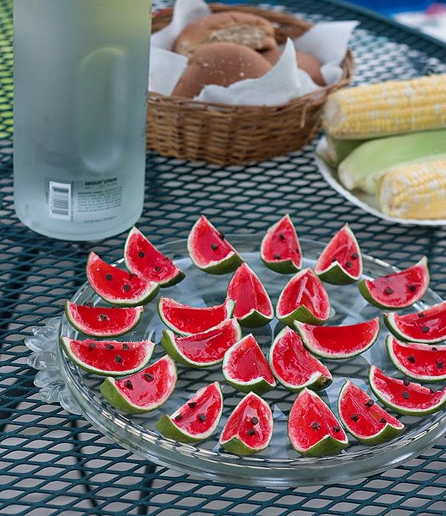 Fruit Slices Summer Shots