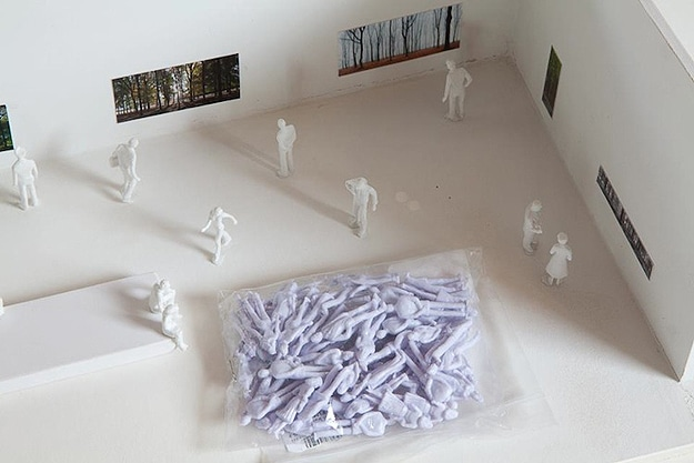 Tiny Plastic People Installation