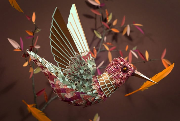 Stunning Papercraft That Goes Far Beyond Intricate Folds