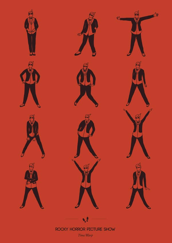 Geekiest Choreographies From Cult Movies Turned Into Posters