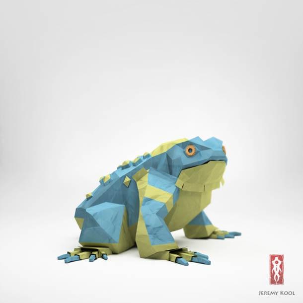digital-paper-origami-animal-artwork